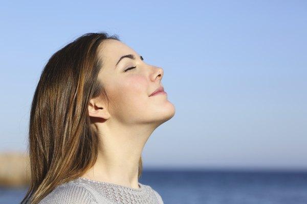 Preste atenção à respiração