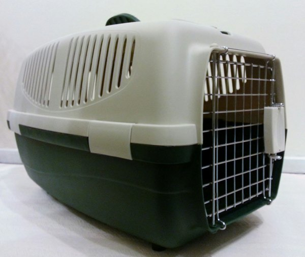 Ten una jaula transportadora en tu hogar y estarás siempre preparado ante cualquier eventualidad.