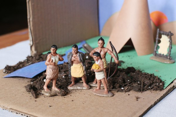 How to Create an Indian Tribe Diorama