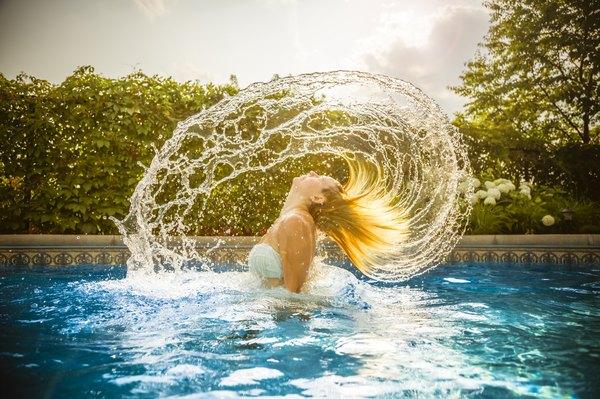 Leve o clima do verão para seus cabelos