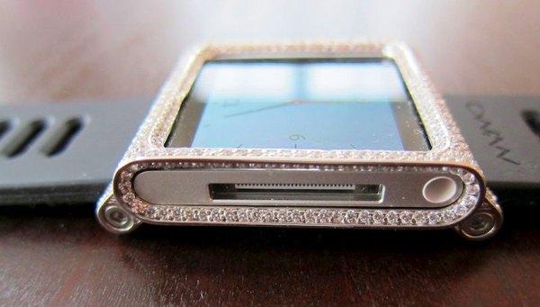 Convierte tu iPod Nano en un lujoso reloj.