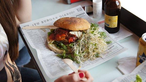 La hamburguesa de Kiosco te dejará con ganas de volver por más.