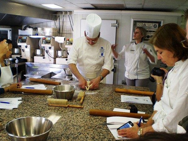 Clase de cocina en Le Cordon Bleu Paris