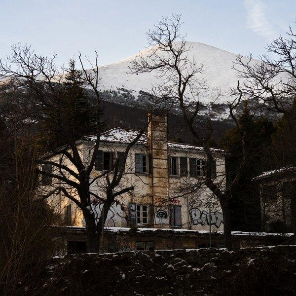 Fachada do Hospício Agramonte