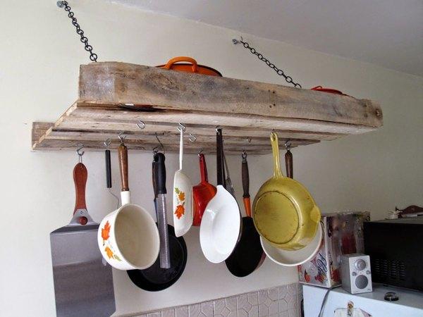 Imagen del mueble colgante para la cocina