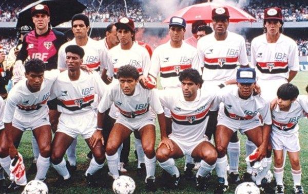 San Pablo campeón de la Copa Libertadores 1992