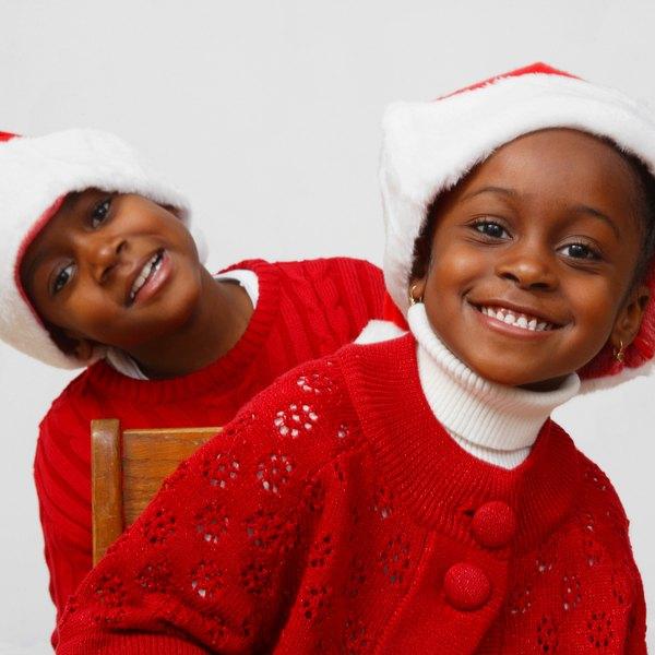 As crianças são a alegria da reunião em família e merecem um cuidado especial