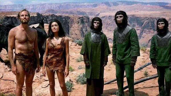 """Os efeitos de maquiagem foram inovadores no filme """"O Planeta dos Macacos"""""""