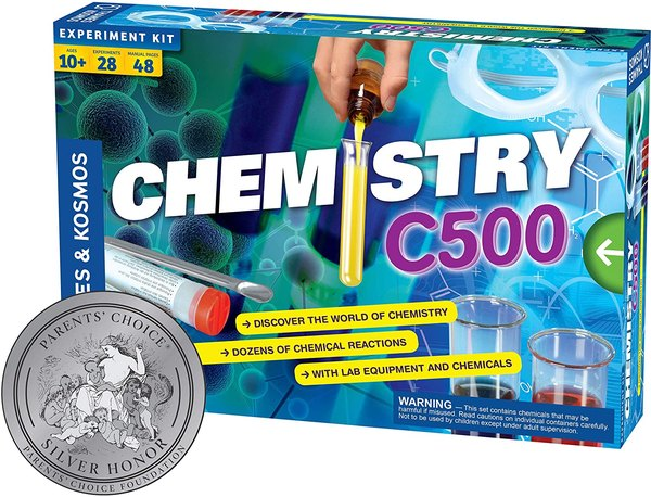 This science kit will teach you the magic of chemistry.