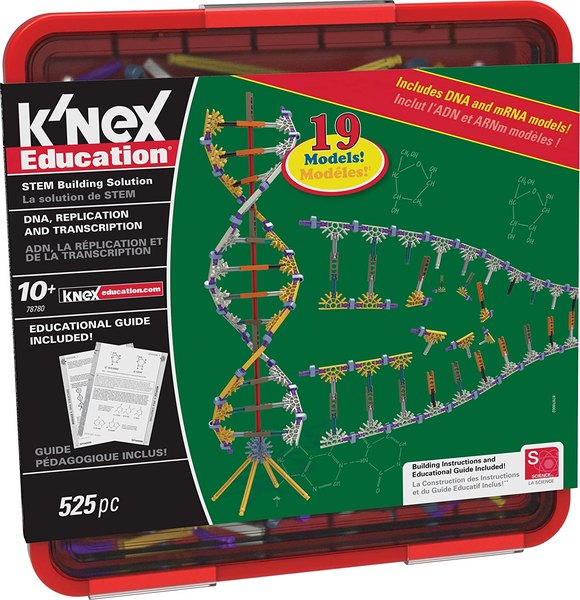 Learn about DNA with this science kit.