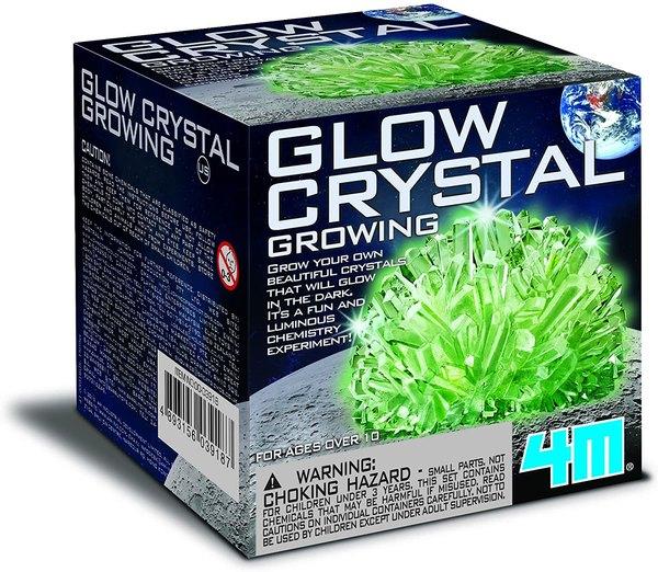 Get glowing with DIY crystals.