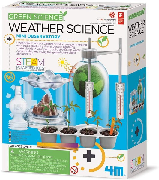 Learn about acid rain, global warming and more with this science project.
