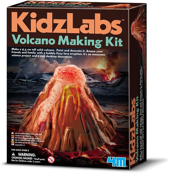 Use this kit to create your own volcano.