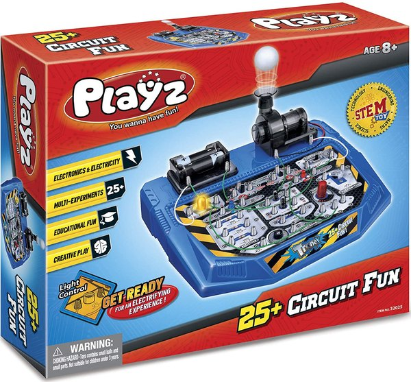 This DIY circuit science experiment is fun for kids.