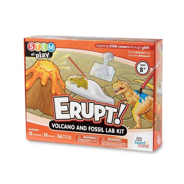 Learn about real volcanic eruptions with this kit.