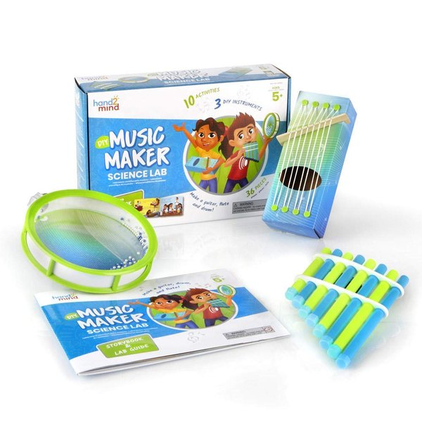 This music maker kit is a perfect complement to Montessori science.