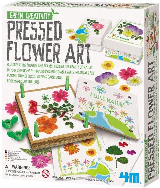 Pressed flower science kit.