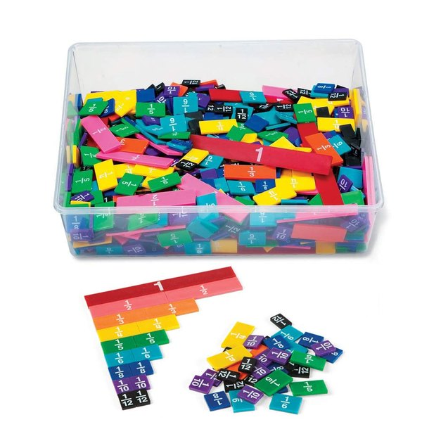 This fraction kit will help your student learn math.