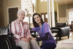 Home care aides are different from personal care aides due to additional medical training.