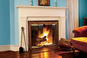 How to Install Glass Fireplace Doors | eHow