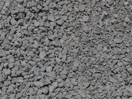 Classify crushed rocks, using household tools.