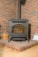 An airtight wood stove often eliminates downdrafts.