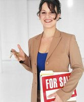 You can generate real estate leads through door knocking