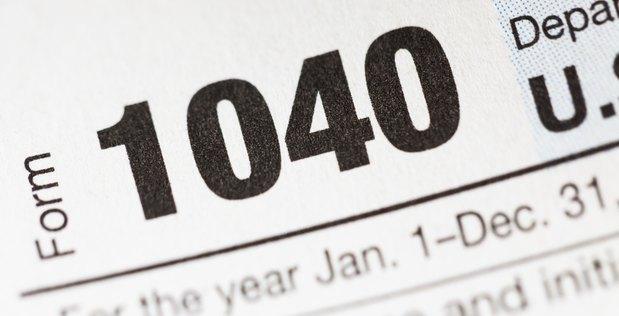 联邦税说明表1040A