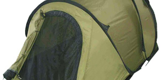 How to Fold a Pop-Up Tent