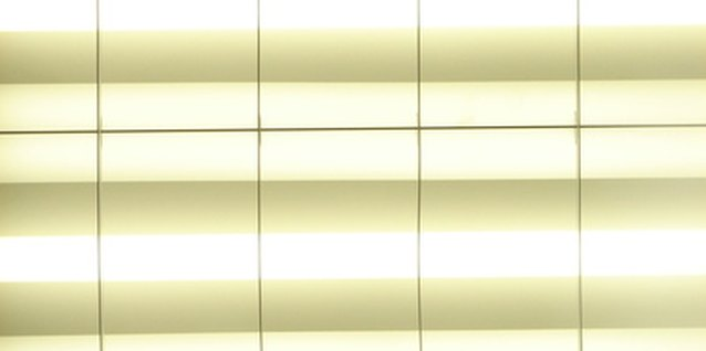 Fluorescent tube arrays are ideal for plant lights