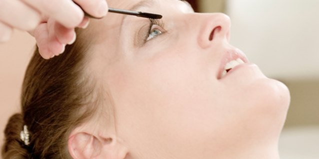 Apply a little clear mascara to your brows as they grow back in.