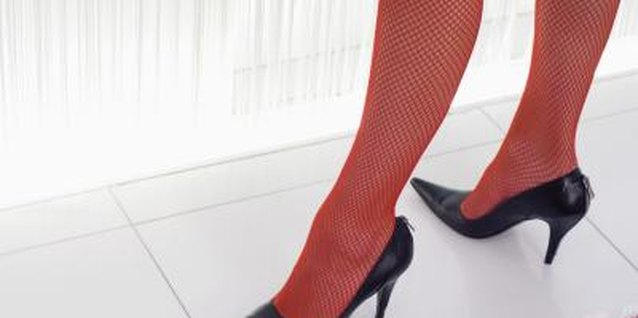 Colored fashion tights add flair to your wardrobe.