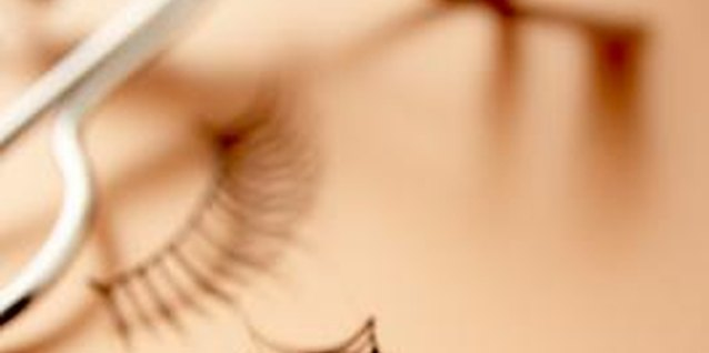 If false eyelashes are too challenging, curl your natural eyelashes for additional length.