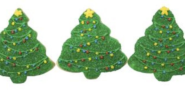 Large cookies are easiest to decorate.