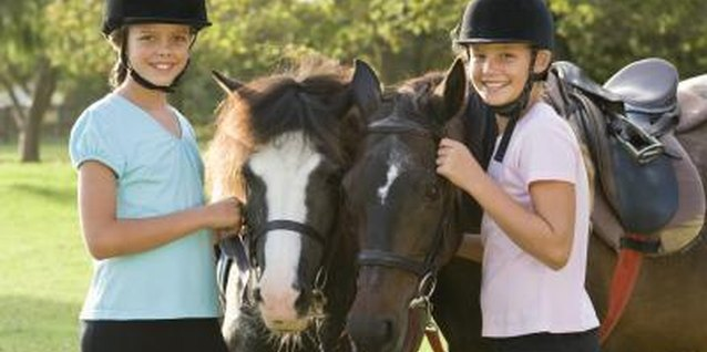 Horseback riding camps offer a great place for teens to meet new friends.