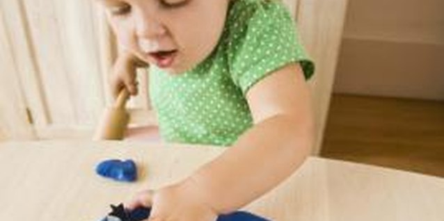 Modeling clay can open up a world of sensory exploration for your child.