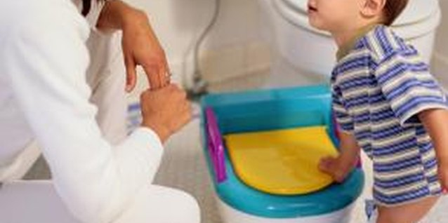 Some toddlers avoid having a bowel movement if it will cause pain.