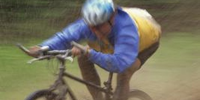 Cyclocross races often happen in fall and winter, when road conditions are worst.