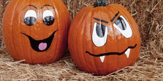 How to Decorate Pumpkins With Sharpies