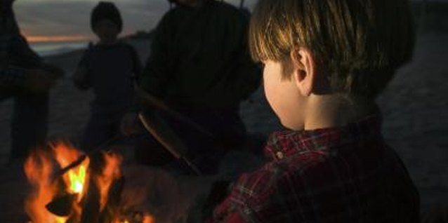 Kids and campfires can mix safely, with supervision.