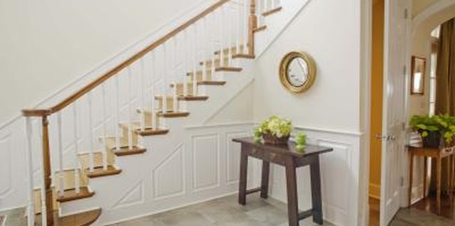 It's important to pay attention to staircase safety in the home.