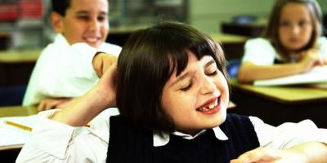 Childhood misbehavior may occur in school, too.