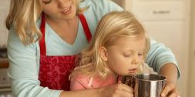 Preschool Activities Using Kitchen Tools