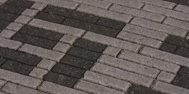 Give your pavers a custom look with acid or acrylic stain.