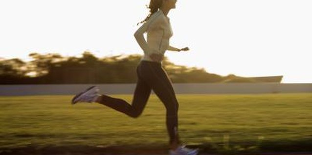 Jogging can burn several hundred calories in an hour.