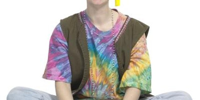 Tie-dye is fashionable, fun and easy for teens.