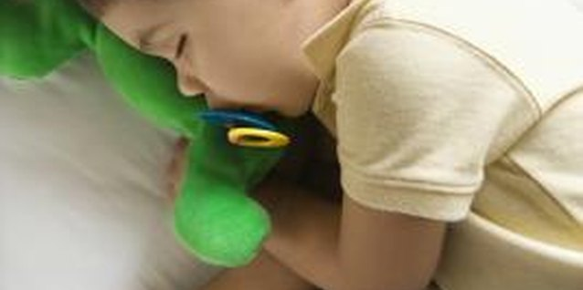 Help your child sleep by paying attention to his sensory environment.
