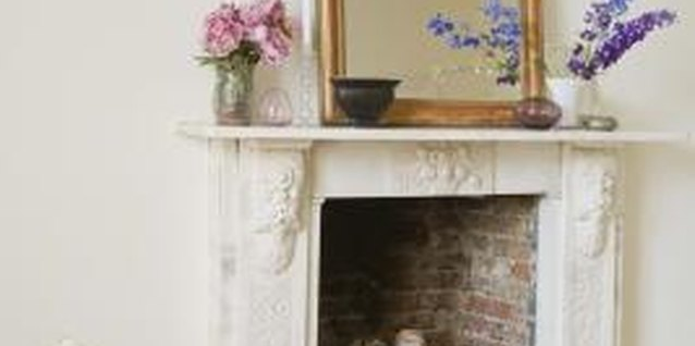 How to Disguise an Ugly Fireplace