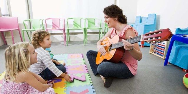 ¿Qué tipo de educación que se necesita para enseñar jardín de niños?