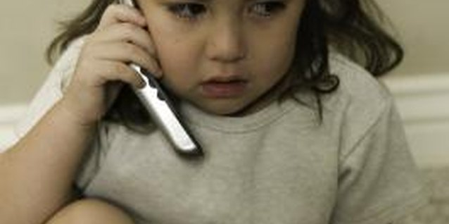 Frequent phone calls to Daddy can help your child during a divorce.